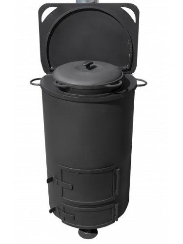 Большая печь для сжигания мусора СМ-70