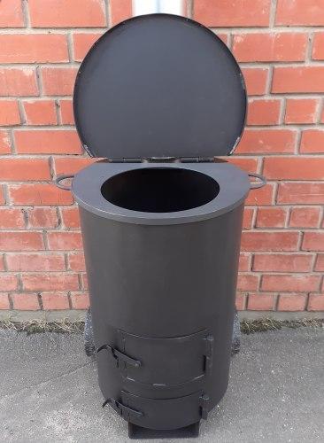 Печь под казан с мусоросжигателем УСМ-130