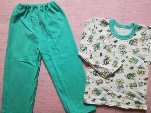 Пижама детская, начес, размер 56 (0744-05)