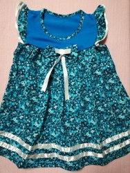 Платье, кулир набивной, размер 56, 60 (0801-01)