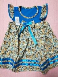 Платье, кулир набивной, размер 52 (0801-04)