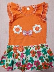 Платье с вышивкой, кулир, размер 56 (0802-04)
