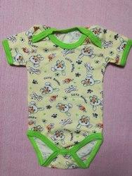 Боди-футболка, кнопки-плечи, кулир, размер 22 (0781-09)