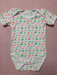 Боди-футболка, кнопки-плечи, кулир, размер 24, 26, 28, 30 (0781-18)