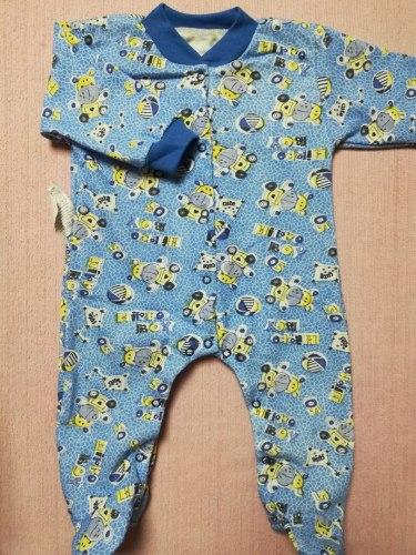 Комбинезон, застежка кнопки на двух ножках, начес, размер 20 (1028-04)