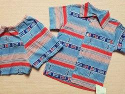 Комплект рубашка+ шорты, кулир тонкий, размер 52 (0393-01)