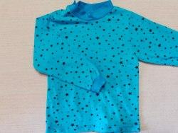 Джемпер, кнопки на плече, кулир, размер 30 (0500-13)