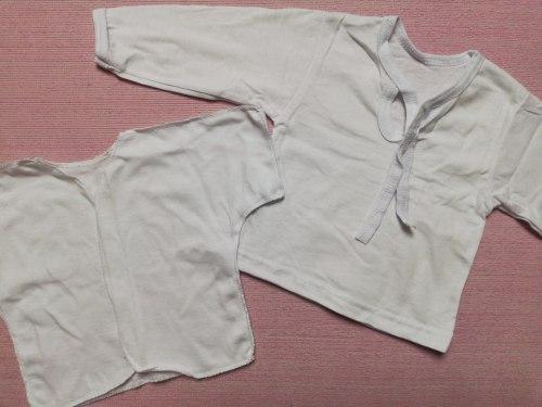 Комплект из 5 предметов для новорожденных, кулир, рост 62 (0534-08)
