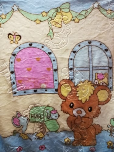 Одеяло детское двойное теплое (0810-01)