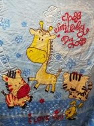 Одеяло детское двойное теплое (0810-02)