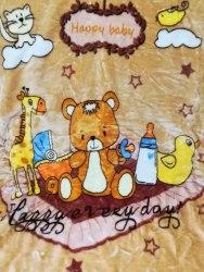 Одеяло детское двойное теплое (0810-03)