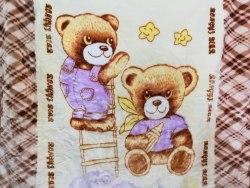 Одеяло детское двойное теплое (0810-04)