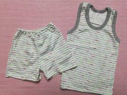 Комплект борцовка + шорты, кулир, размер 64 (0096-02)