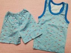 Комплект борцовка + шорты, кулир, размер 56 (0096-05)