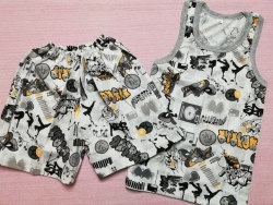 Комплект борцовка + шорты, кулир, размер 68 (0096-09)