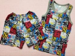 Комплект борцовка + шорты, кулир, размер 60 (0096-11)