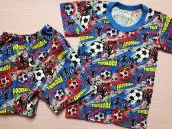 Комплект футболка + шорты, кулир набивной, размер 30 (0434-02)