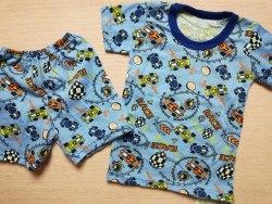 Комплект футболка + шорты, кулир набивной, размер 30 (0434-03)