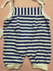 Песочник-панталончики на завязках, кулир, размер 26 (0888-05)