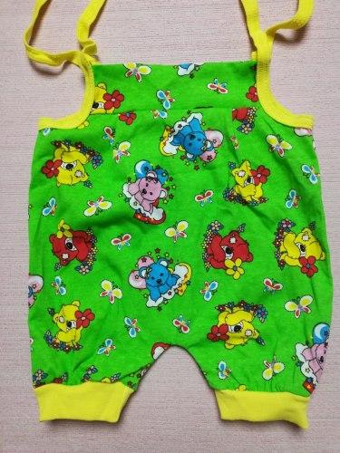 Песочник-панталончики на завязках, кулир, размер 26 (0888-07)