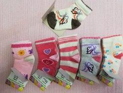 Носки для девочек, размер 12 (0842-02)