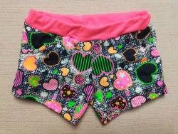 Шорты для девочек с карманами, кулир, размер 28 (0861-07)