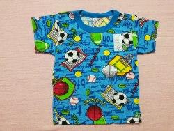 Футболка цветная, кулир, размер 60 (0072-15)