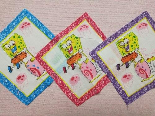 Платочки носовые детские, 20 х 20 (0725-04)