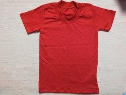 Футболка детская, кнопки-плечо, кулир, размер 22, 30 (0786-05)
