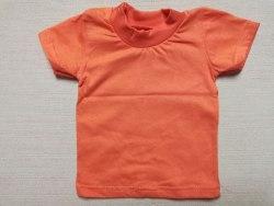 Футболка детская однотонная, кулир, размер 22 (0786-07)