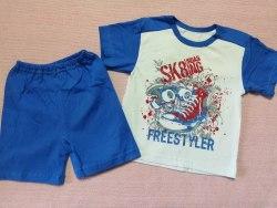 Комплект для мальчиков, кулир, размер 60 (1055-01)