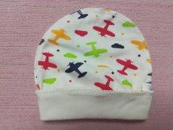 Шапочка для новорожденных, кулир, размер 36 (1039-01)