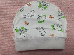 Шапочка для новорожденных, кулир, размер 36 (1039-02)