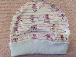 Шапочка для новорожденных, кулир, размер 36, 40 (1039-03)
