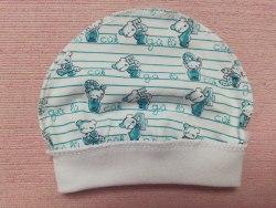 Шапочка для новорожденных, кулир, размер 40 (1039-05)