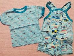 Комплект: песочник на кнопках + футболка, кулир, размер 44 (0799-01)
