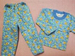 Пижама детская теплая (начес), размер 52 (0085-03)