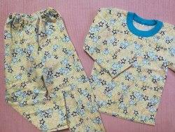 Пижама детская теплая (начес), размер 56 (0085-05)