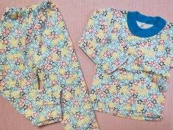 Пижама детская теплая (начес), размер 56 (0085-07)