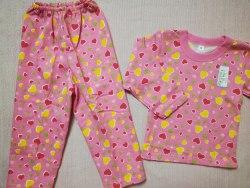 Пижама детская теплая (начес), размер 56 (0085-11)