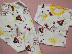 Пижама детская теплая (начес), размер 60, 64 (0085-15)