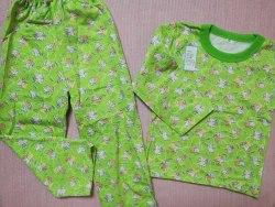 Пижама детская теплая (начес), размер 60 (0085-16)
