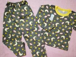Пижама детская теплая (начес), размер 60 (0085-18)