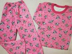 Пижама детская теплая (начес), размер 68 (0085-22)