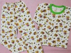 Пижама детская теплая (начес), размер 68 (0085-24)