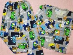 Пижама детская теплая (начес), размер 68 (0085-25)