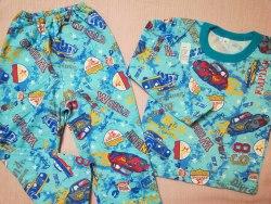 Пижама детская теплая (начес), размер 68 (0085-26)