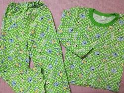 Пижама детская теплая (начес), размер 68 (0085-27)