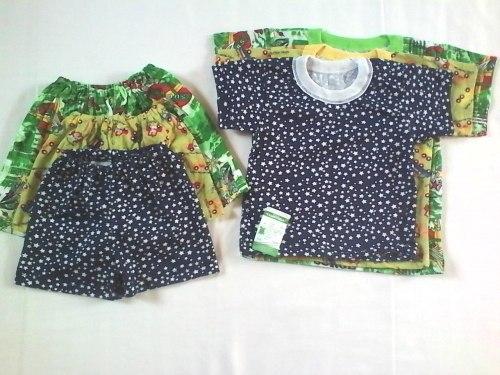Комплект футболка + шорты, кулир набивной (0097)