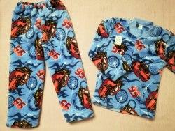 Пижама теплая, велсофт, размер 52, 56 (0955-03)